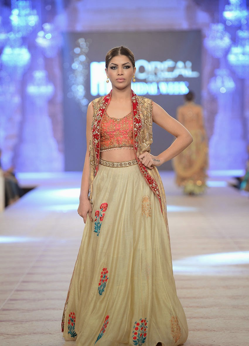 Bridal Lehenga, New Bridal Wear, 2015.