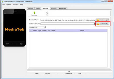 Flash Android Dengan SP Flash Tool