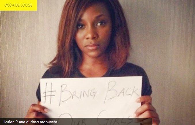 """Ofrece su """"virginidad"""" a secuestradores nigerianos"""