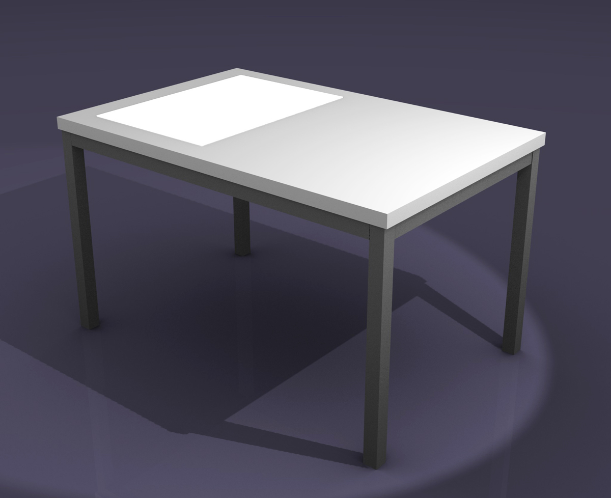 The Big Orchard LED Light Tables  The Future is bright -> Table Galet Led