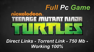 Free Download Game Nickelodeon Teenage Mutant Ninja Turtles: Danger of the Ooze Pc Full Version – Original Version 2015 – Direct Links – Torrent Link – 750 Mb – Working 100% .