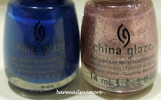 China Glaze Manhunt and Hey Gorgeous