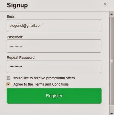 isi form registrasi di google ping baru