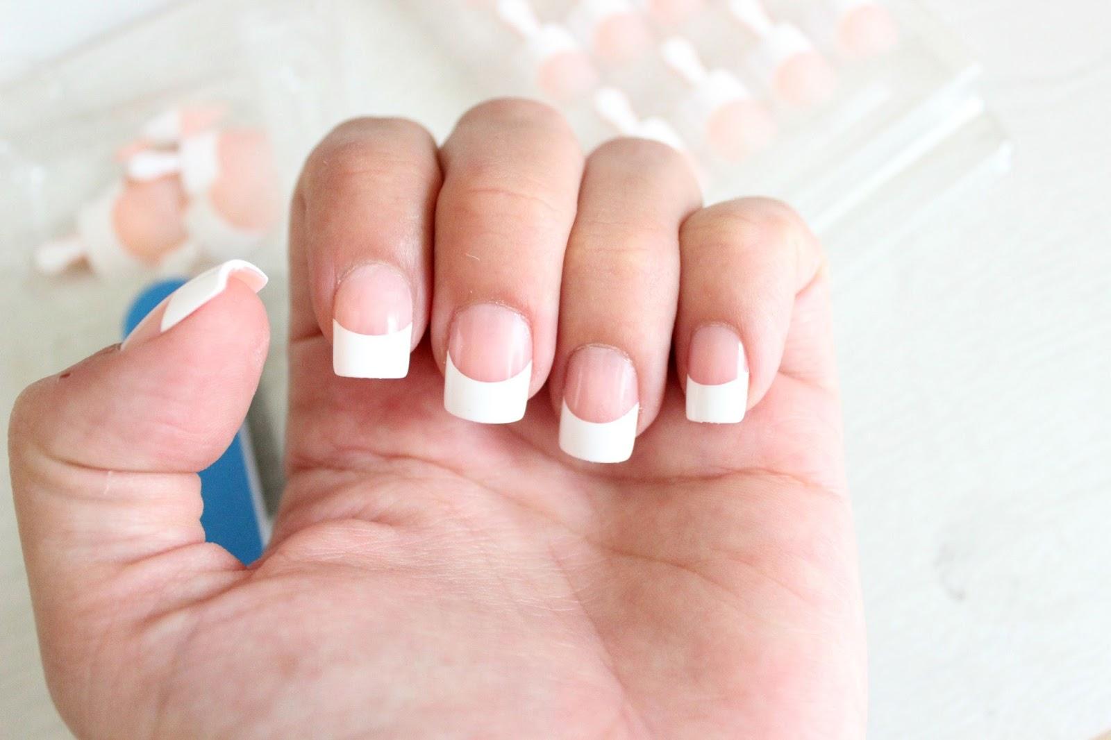 KISS Salon Acrylic French Nails | It\'s KT