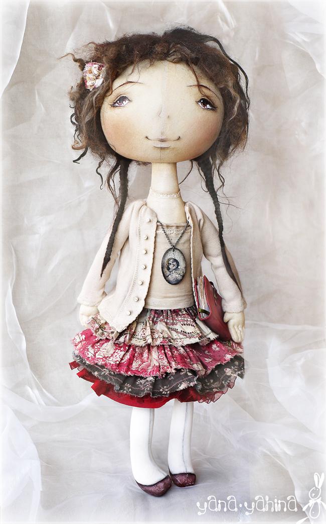 Красивые текстильные куклы своими руками