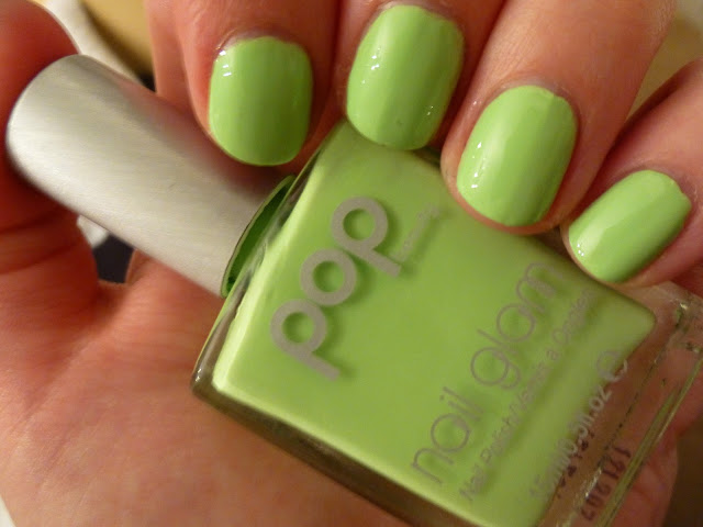 Pop Beauty Loud Lime Nail Polish