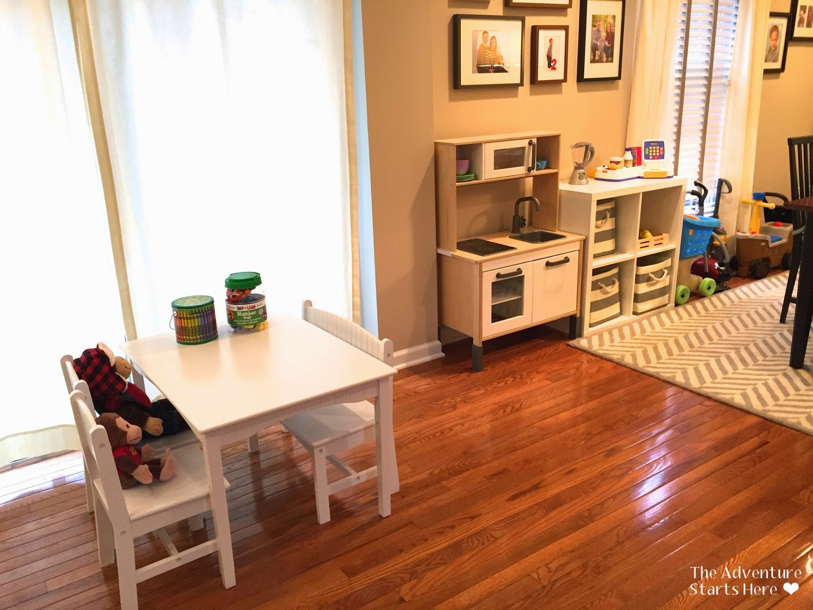 ... His Toy Food, Pots And Pans, Melissa And Doug Cutting Sets, And His  Appliances. I Also Ordered Some Bins From Land Of Nod To Hide It All And  Make It ...