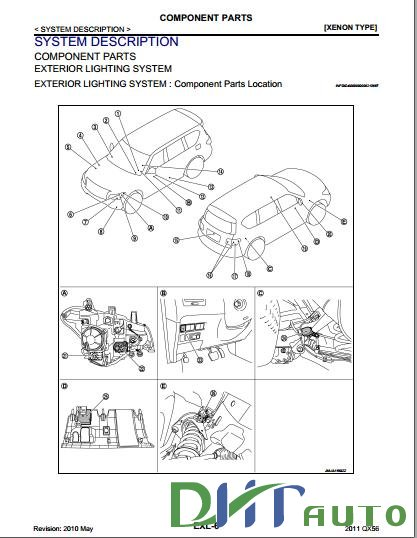 2011 Infiniti QX Owners Manual