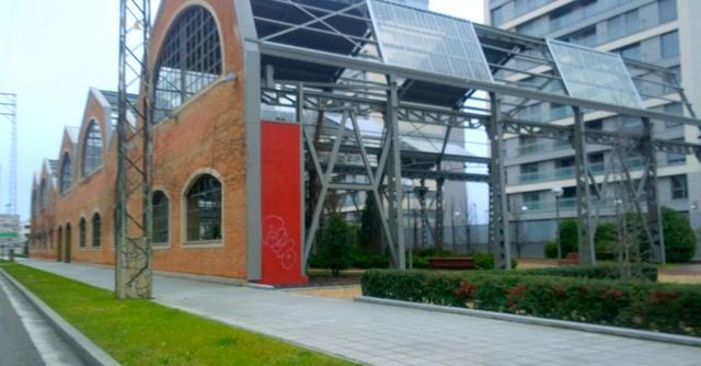 Edificios reconvertidos parque