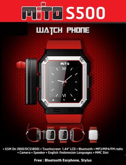 Mito S500 Jam Tangan Hape? atau Hape jam Tangan?? gadget satu ini ...