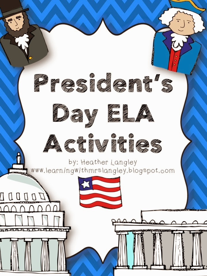 http://www.teacherspayteachers.com/Product/Presidents-Day-ELA-Activities-1101566