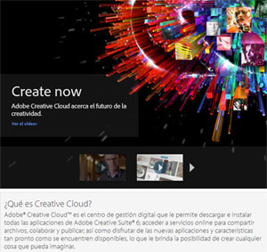 Imagen de Creative Cloud de Adobe