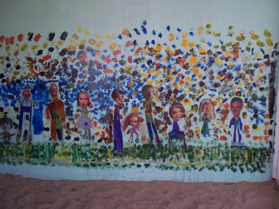 Murales nivel inicial a pintar y a pintarte for Materiales para pintar un mural