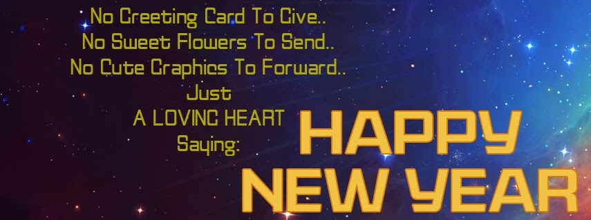 Happy New Year 2014 Facebook Timeline Cover