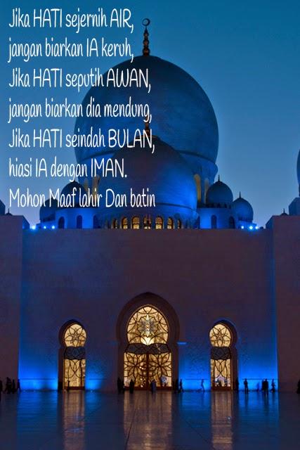 Gambar Ucapan Selamat Idul Fitri Buat Status Facebook