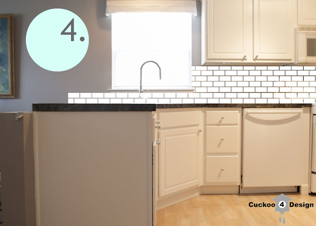 options for subway tiles around a window