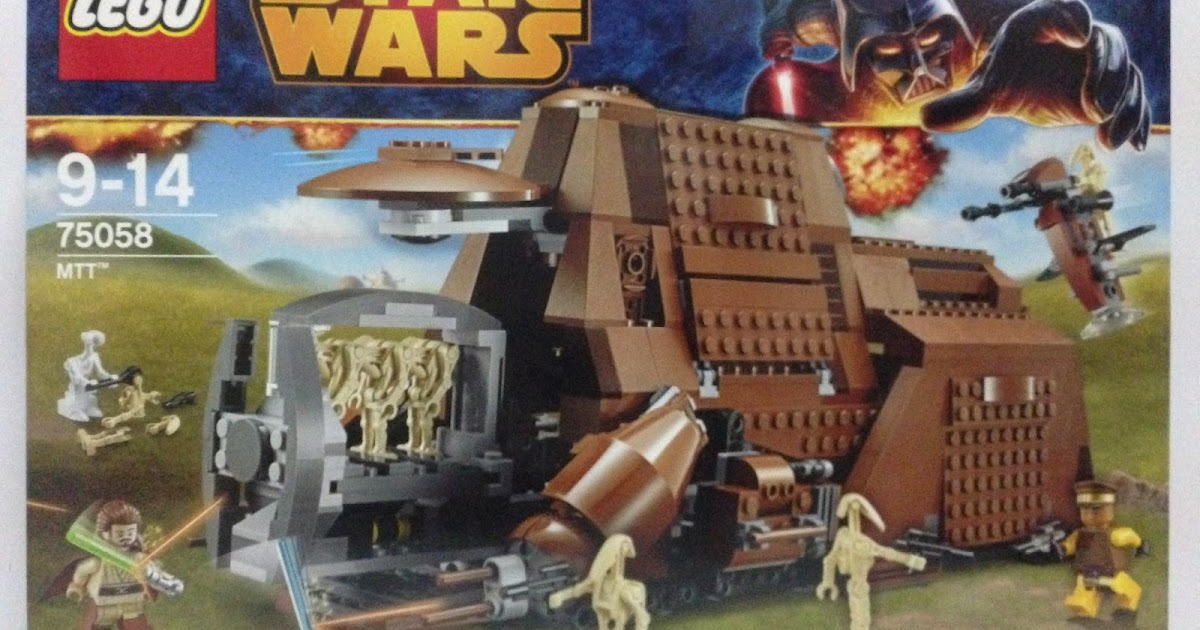 The Marriage Of Lego And Star Wars Review 75058 Mtt