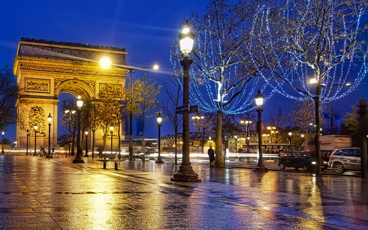 arc de triomphe paris france world travel destinations. Black Bedroom Furniture Sets. Home Design Ideas