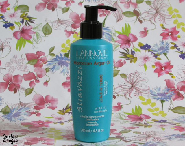 Moroccan Argan Oil Leave-In Termo - Lannove