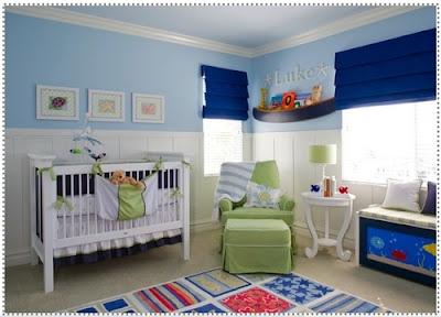 Decoracao para Quarto de Bebe dicas fotos 5 Como decorar o quarto do bebê