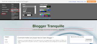 police style couleur description blogger