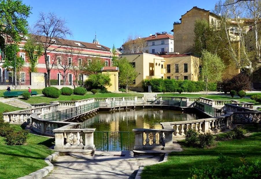 Jardim Giardini della Guastalla em Milão