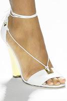 chaussures de mariée blanche