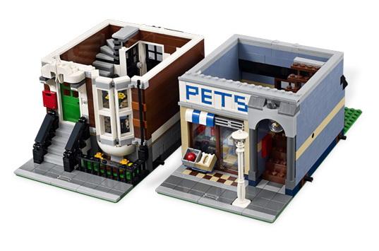 Raisable Coffee Table REPUBbLICk: LEGO set database: 10218 pet shop