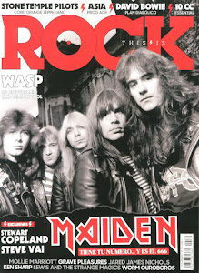 Puedes leerme cada mes en la revista This Is Rock.