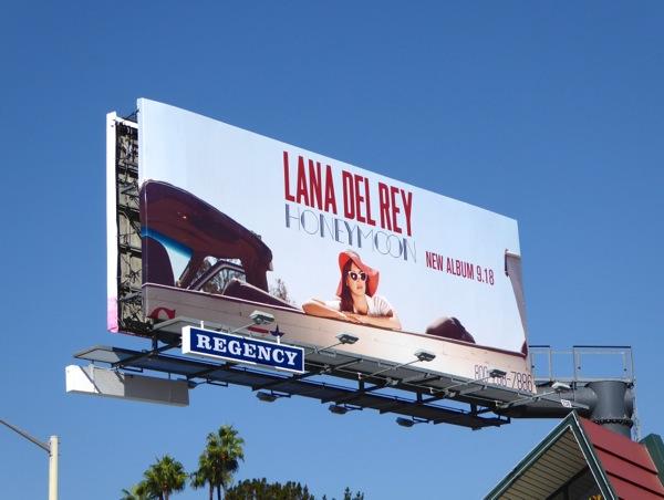 Lana Del Rey Honeymoon album billboard