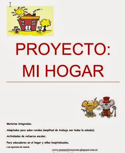 """Proyecto integrado """"Mi hogar"""""""