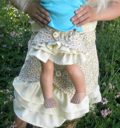 Matching Girl and Doll Skirt The Lachman Collection
