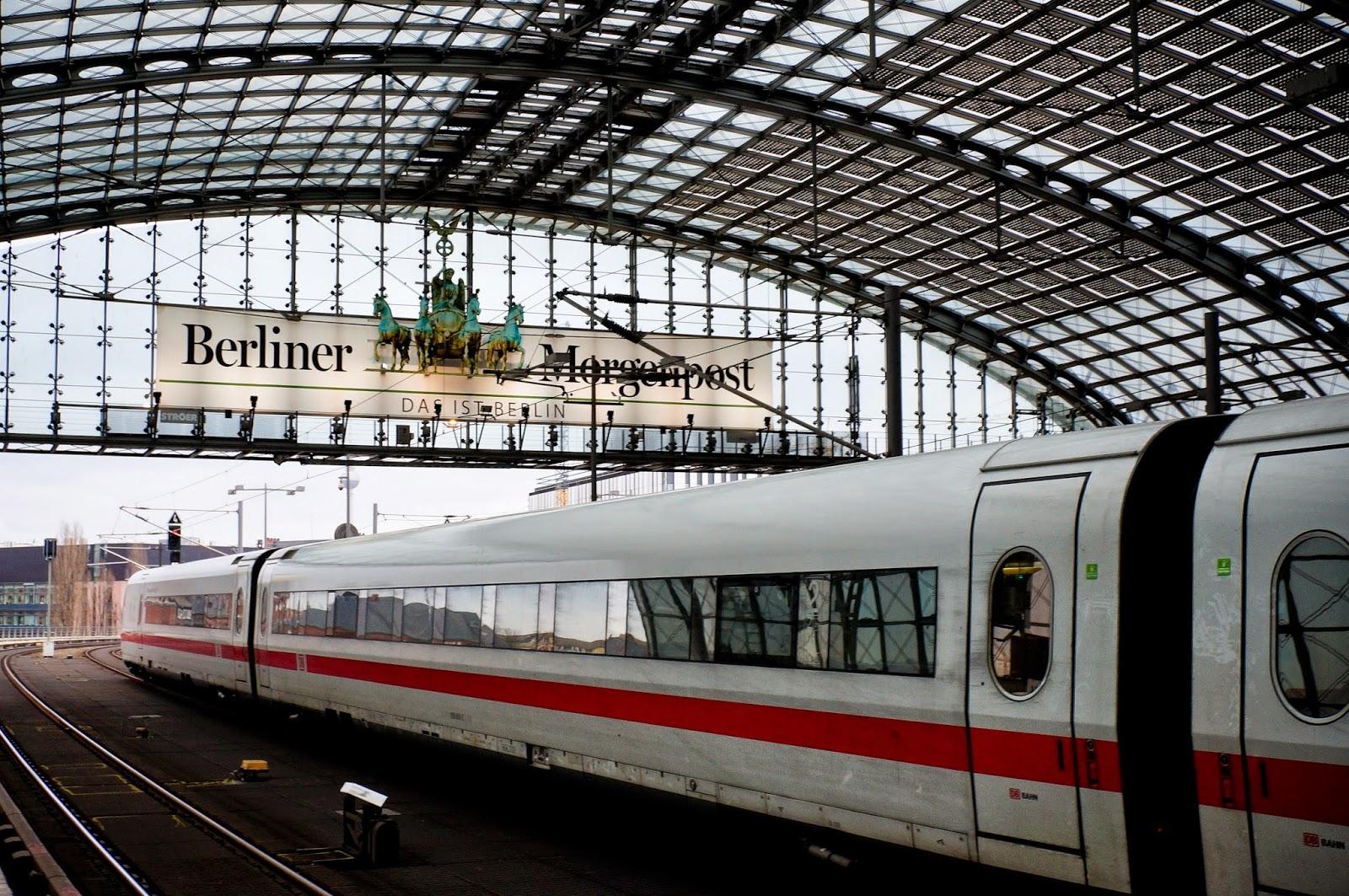 Berlin, dworzec