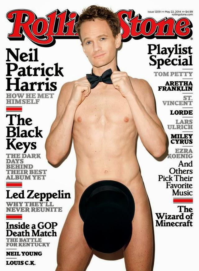 Neil Patrick Harris en Rolling Stone Magazine