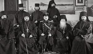 Присутствие русских монахов на Афоне