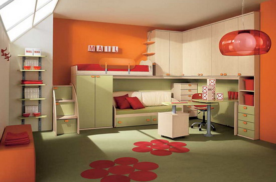 Of Course, All Parents Have Always Wanted A Child Is Always Cheerful  Atmosphere Everywhere, At Least Not In His Room.