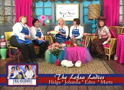 Things get a bit strained when the Lefse Ladies appear on The Women of Sweet Swine County