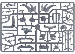 Warhammer Lizardmen Bastiladon Sprue