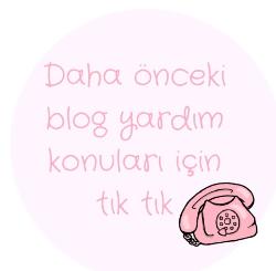 blog yardım