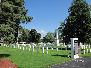 Civil War Headstones, Union Headstones