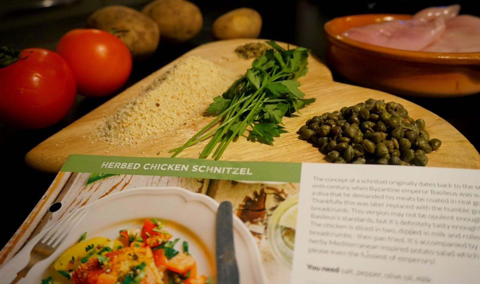 Chicken Schnitzel Gousto