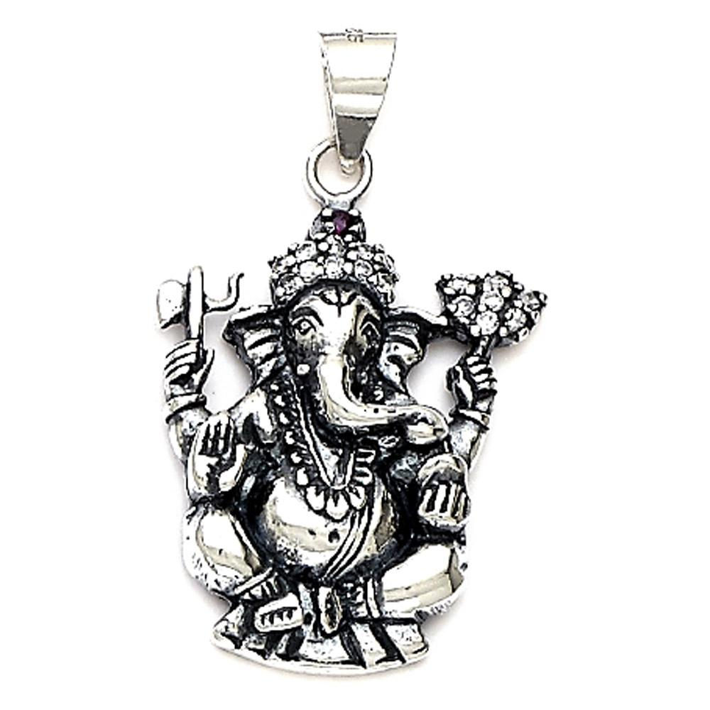 how to wear a ganesh pendant