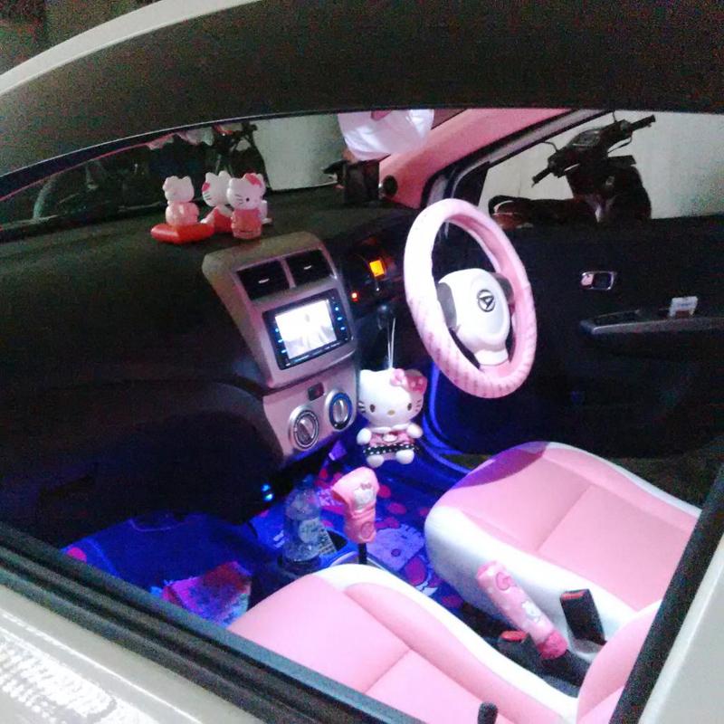 daihatsu ayla modifikasi interior