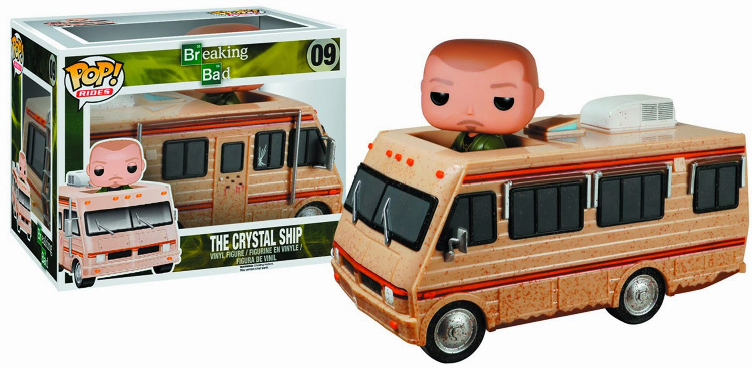 09.- Furgoneta de Breaking Bad Funko Pop!