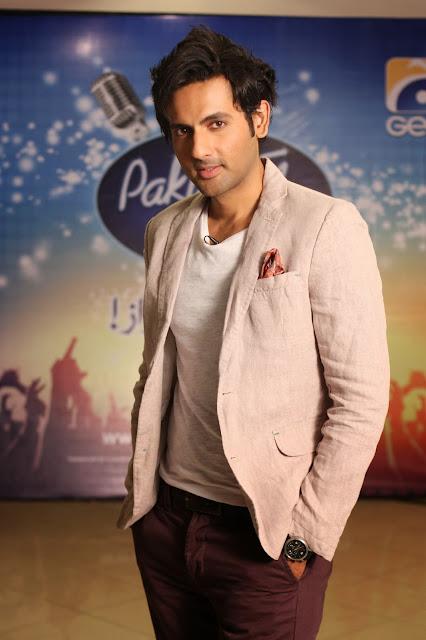 Pakistan Idol host Mohib Mirza