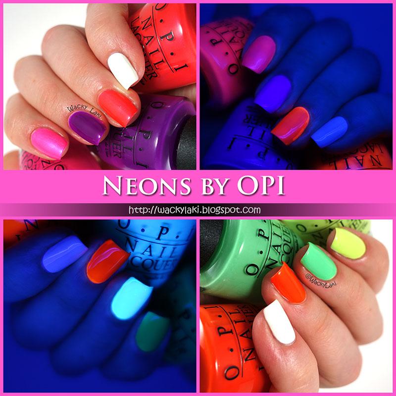 Wacky Laki: Neons by OPI!