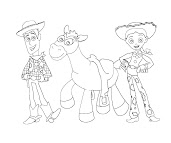 #3 Toy Story Coloring Page