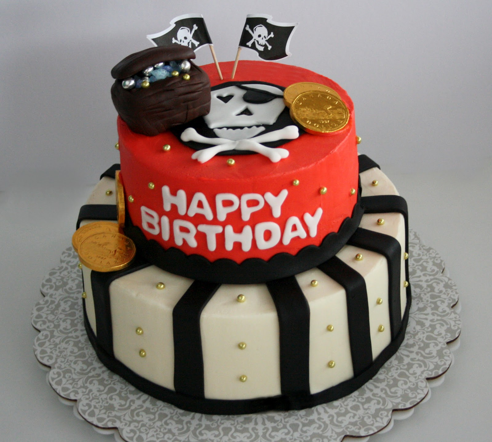 Pirate cake - photo#12