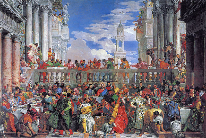 BEST AMERICAN ART: Art and Music in Early Modern Europe Wedding At Cana Veronese