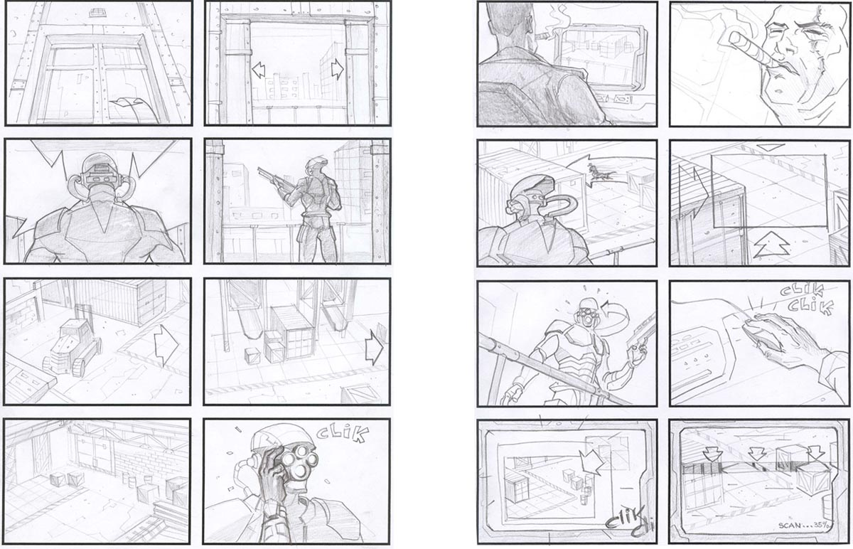 Novel storyboard